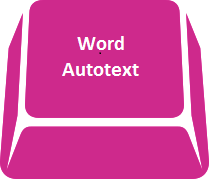 Word - autotext