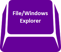 File/Windows explorer